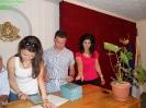 Връчване на дипломи - 20,06,2012 г.